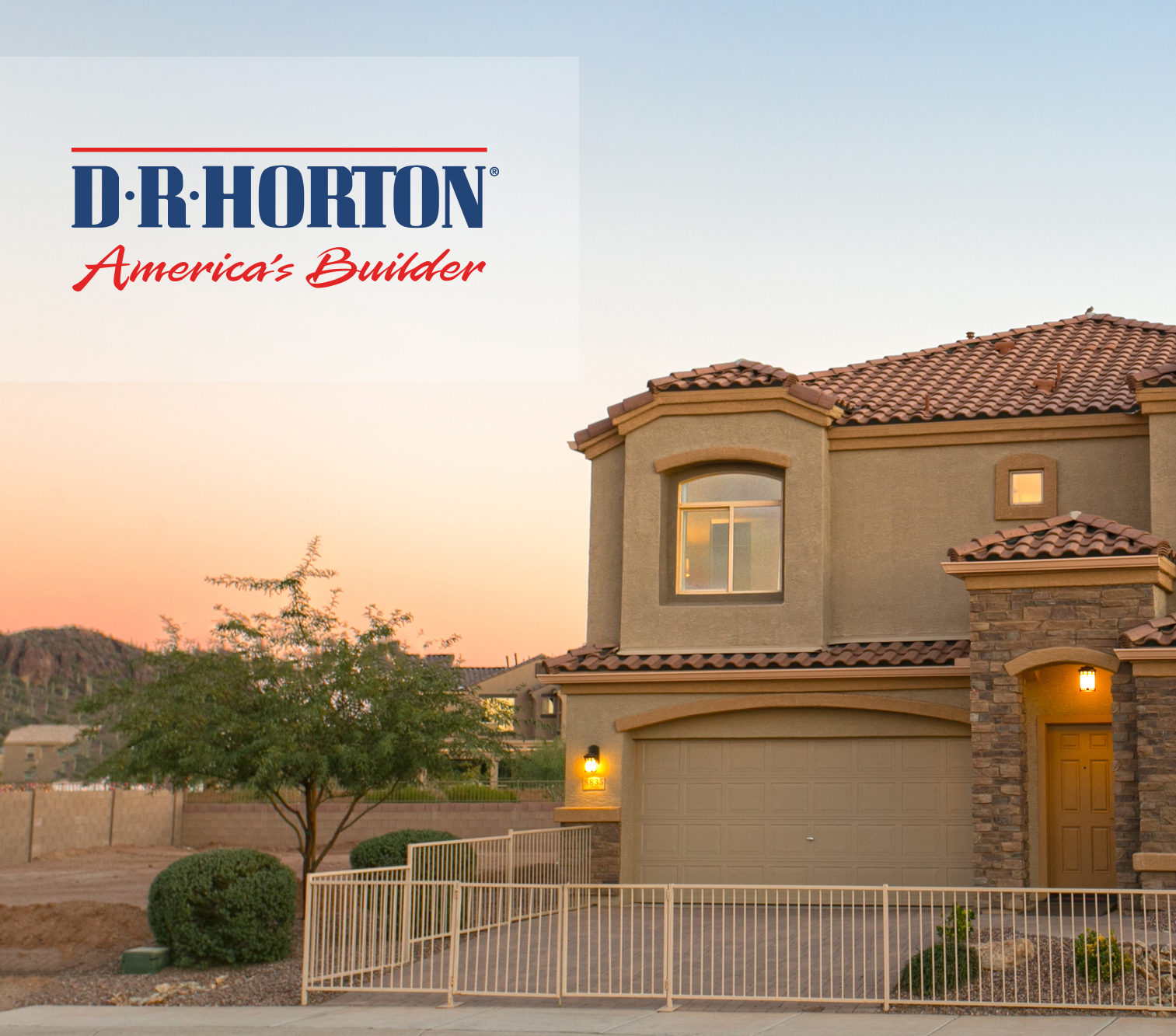 Dr horton homes new construction neighborhoods in tucson for Building a house in arizona